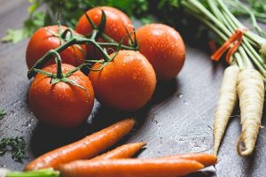 Jo-Jo-Effekt: frisches Gemüse