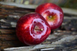 Bauchfett reduzieren - Äpfel
