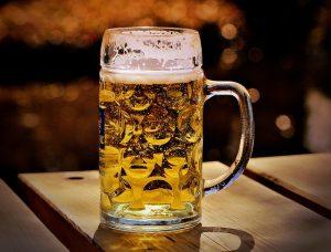Bauchfett verlieren - Bierkrug