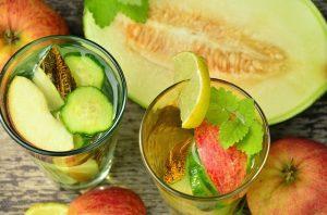 Gewicht verlieren - Fruchtschorle