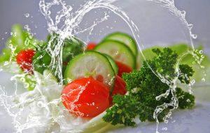 Body Mass Index – frischer Salat