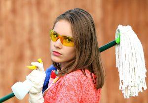Gewicht verlieren durch Hausarbeit - möglich oder nicht?
