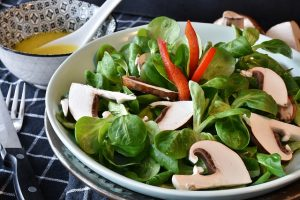 Vegan abnehmen - Salat