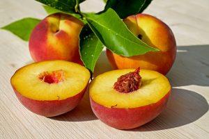 Gewicht verlieren - Pfirsiche