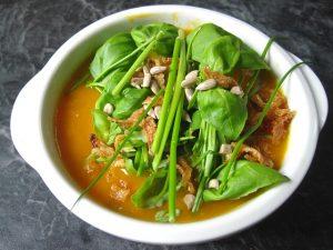 Bauchfett verlieren - Gemüsesuppe