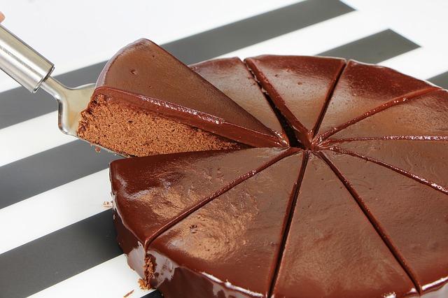 Wie kann ich schnell abnehmen - Schokoladenkuchen