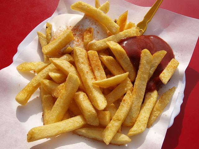 Heißhunger - Pommes Frites