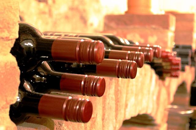 Abnehmen mit Rotwein: Weinkeller