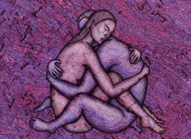 Abnehmen mit Sex - Illustration