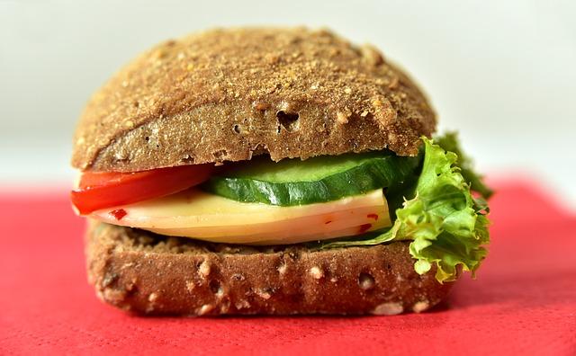 Abnehmen mit Intervallfasten - Sasndwich