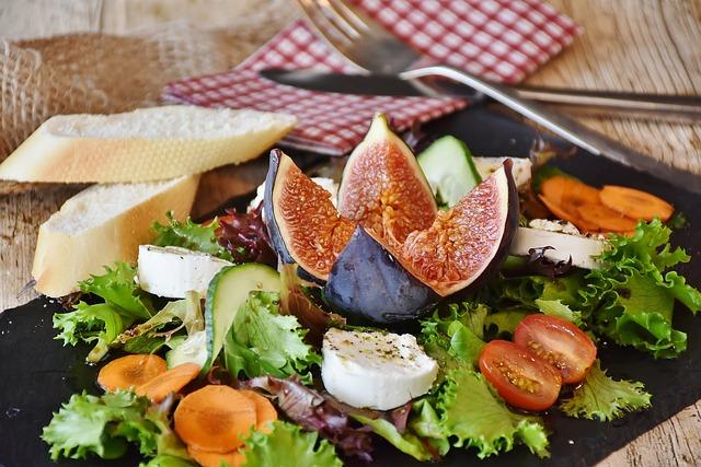Abnehmen mit Intervallfasten - Salat