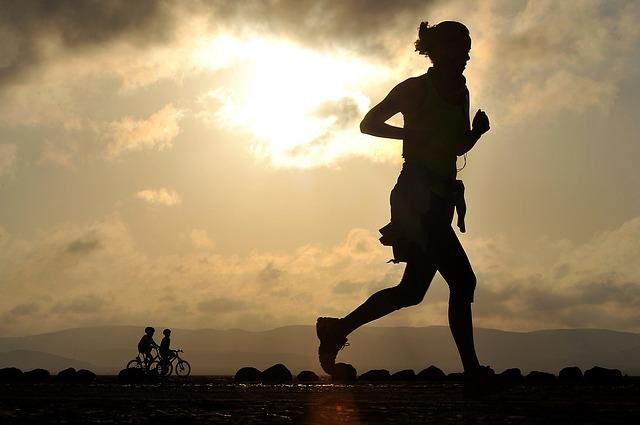 Abnehmen in 24 Stunden - Joggerin